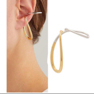 バレンシアガ(Balenciaga)のバレンシアガ シャルロットシェネ イヤーカフ  片耳18k(ピアス)