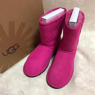 アグ(UGG)の未使用 UGG CLASSIC SHORT US 5(ブーツ)