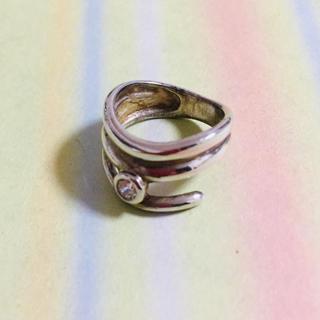 ピンキー リング シルバー925 キュービックジルコニア シンプル (リング(指輪))