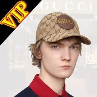 """グッチ(Gucci)のGUCCI """"GG"""" canvas baseball Cap - UNISEX(キャップ)"""