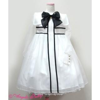 Angelic Pretty - Dolly Crossジャンパースカート(シロ)☆Angelic Pretty