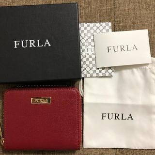 フルラ(Furla)の新品☆フルラ 二つ折り財布 赤(財布)
