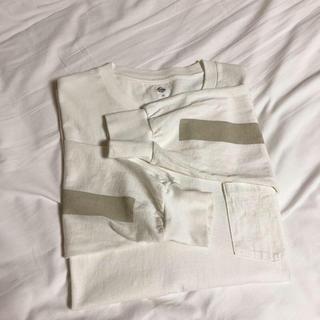 コモリ(COMOLI)のKAPTAIN SUNSHINE West Coast sand grey(Tシャツ/カットソー(七分/長袖))