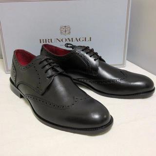 ブルーノマリ(BRUNOMAGLI)の新品BRUNO MAGLI ドレスシューズ ウイングチップ 27-27.5cm(ドレス/ビジネス)