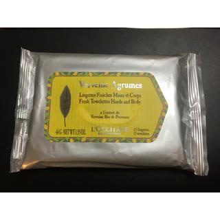 ロクシタン(L'OCCITANE)のロクシタン リフレッシング タオレッツ(制汗/デオドラント剤)
