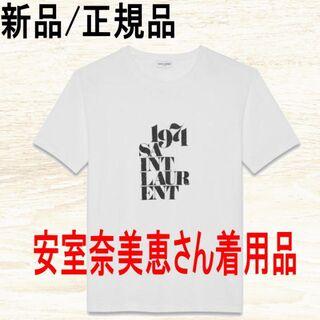 サンローラン(Saint Laurent)のSaint Laurent 安室奈美恵さん着用品 日本完売 1971 T-SHI(Tシャツ(半袖/袖なし))