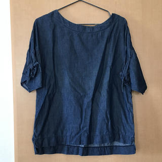 ジーユー(GU)のお値下げしました GU半袖トップス(シャツ/ブラウス(半袖/袖なし))