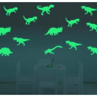 光る恐竜ステッカー(シール)