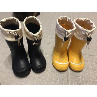 ムジルシリョウヒン(MUJI (無印良品))の無印良品 キッズ長靴(長靴/レインシューズ)