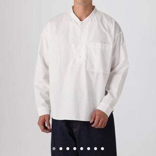 MUJI (無印良品) - MUJI labo ムジラボ  プルオーバーシャツ