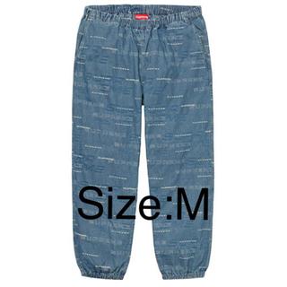シュプリーム(Supreme)のDimensions Logo Denim Skate Pant Blue M(ワークパンツ/カーゴパンツ)