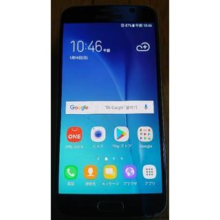 SAMSUNG - 美品海外版SAMSUNG GALAXY S6 64GB判定○アンドロイド7.0