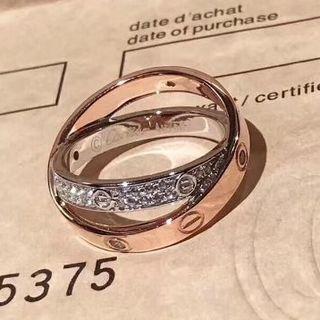 カルティエ(Cartier)の定番人気 カルティエ ミニラブリング(リング(指輪))