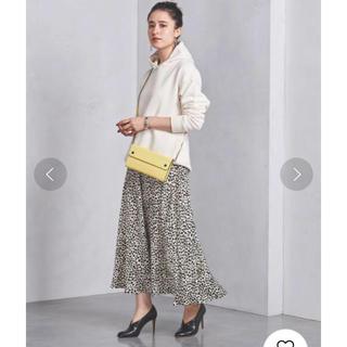 UNITED ARROWS - 美品!ユナイテッドアローズ レオパードスカート