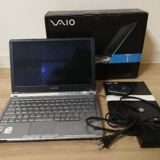SONY - Sony VAIO type T VGN-TX92PSプレミアムブルー ワンセグ