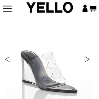 イエローブーツ(Yellow boots)のINK WEDGE SANDALS STYLE NO:YE-19S2-SD08(サンダル)