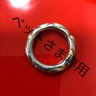 クロムハーツ(Chrome Hearts)のクロムハーツ スクロールバンドリング 内径20ミリ(リング(指輪))