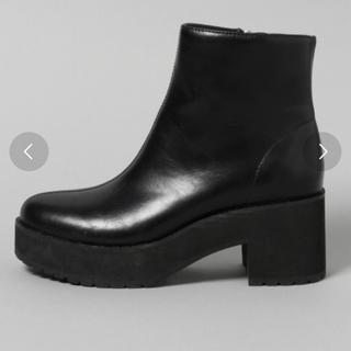 ジーナシス(JEANASIS)の新品未使用 ジーナシス ブーツ(ブーツ)
