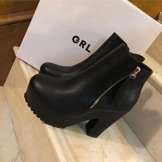 GRL - GRLダブルファスナーストーム美脚ブーツ