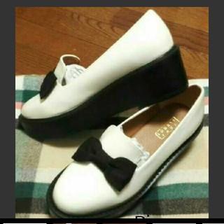 ローリーズファーム(LOWRYS FARM)の厚底ローファー(ローファー/革靴)