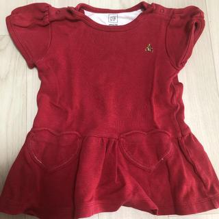 ギャップ(GAP)のGAP 赤 半袖(Tシャツ)