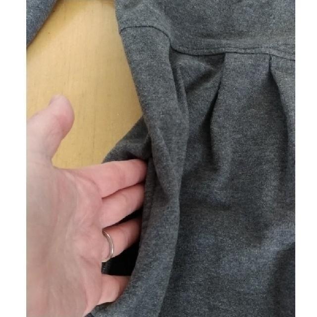DENIM DUNGAREE(デニムダンガリー)の美品です✴DENIM DUNGAREE デニムダンガリー スウェットワンピース キッズ/ベビー/マタニティのキッズ服 女の子用(90cm~)(ワンピース)の商品写真