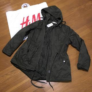 エイチアンドエム(H&M)の【新品未使用】H &M   モッズコート(モッズコート)