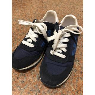 アルマーニ ジュニア(ARMANI JUNIOR)のARMANI キッズ ジュニア スニーカー 靴 19cm 20cm (スニーカー)