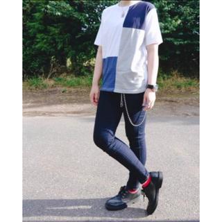 レイジブルー(RAGEBLUE)のレイジブルー  tシャツ 切り替え(Tシャツ/カットソー(半袖/袖なし))