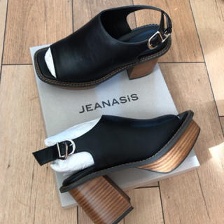 JEANASIS - JEANASiS 新品 ウエッジサンダル