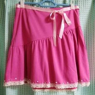 バービー(Barbie)のBarbie ピンクスカート(ミニスカート)