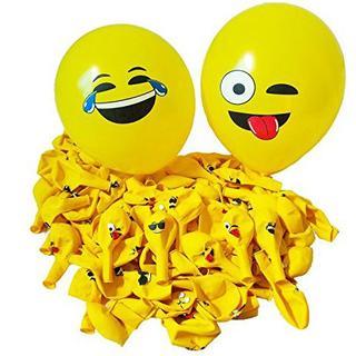 CCINEE 可愛い 黄色笑顔風船 バルーン