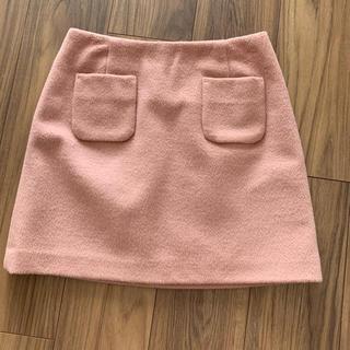 エヌナチュラルビューティーベーシック(N.Natural beauty basic)の台形 ミニスカート (ミニスカート)