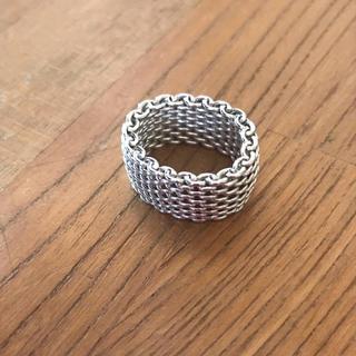 ティファニー(Tiffany & Co.)のティファニー メッシュ リング(リング(指輪))