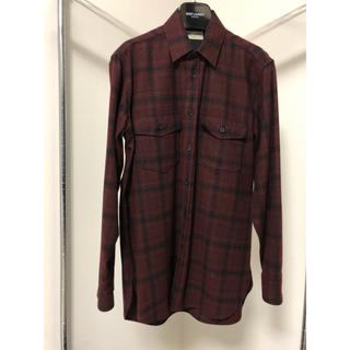 サンローラン(Saint Laurent)のSaint Laurent 14/15FW チェックシャツ(シャツ)