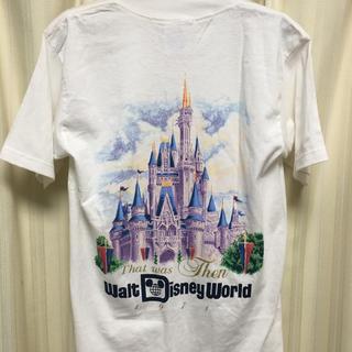 Disney - レア WDW シンデレラ城 Tシャツ ハロウィン 25周年 ディズニー パーカー