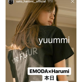 EMODA - EMODA 佐藤晴美コラボTシャツ