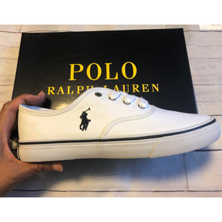 POLO RALPH LAUREN - ポロラルフローレン スニーカー 24.5