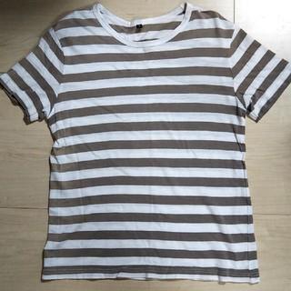 ムジルシリョウヒン(MUJI (無印良品))の無印良品 ボーダー Tシャツ Sサイズ MUJI(Tシャツ/カットソー(半袖/袖なし))