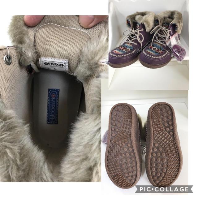 OUTDOOR PRODUCTS(アウトドアプロダクツ)の【未使用品】女性 M《OUTDOOR》(ムートン)ブーツ レディースの靴/シューズ(ブーツ)の商品写真