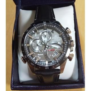 カシオ(CASIO)のCASIO エディフィス(EQB-501XBL-1AJF) 未使用 33(腕時計(アナログ))