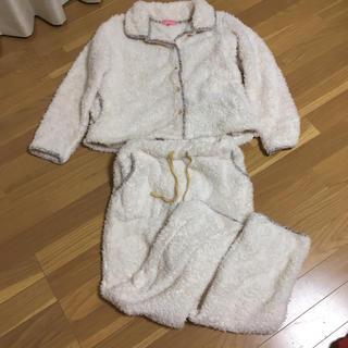 しまむら - もこもこパジャマ ルームウェア  M 白色
