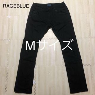 レイジブルー(RAGEBLUE)のRAGEBLUE カラーパンツ メンズ Mサイズ ブラック(デニム/ジーンズ)