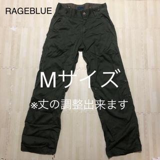 レイジブルー(RAGEBLUE)のRAGEBLUE ワークパンツ メンズ Mサイズ カーキ(ワークパンツ/カーゴパンツ)