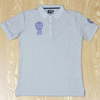 パーリーゲイツ(PEARLY GATES)の新作パーリーゲイツ メンズ 半袖シャツ グレー サイズ6(シャツ)