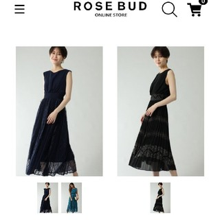 ローズバッド(ROSE BUD)のROSE BUD ロングドレス(ロングワンピース/マキシワンピース)