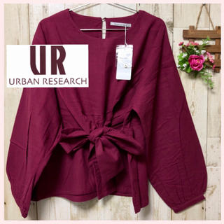 URBAN RESEARCH - ✴︎新品✴︎ピンク ネル アーバンリサーチ  トップス シャツ ブラウス