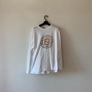 フェンディ(FENDI)のFENDI 長袖Tシャツ(Tシャツ/カットソー(七分/長袖))