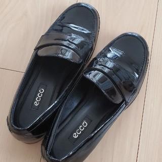 アシックス(asics)の37ecco エナメルローファー(ローファー/革靴)