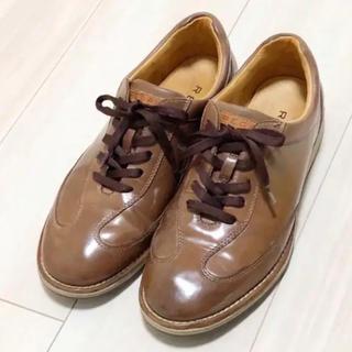 リーガル(REGAL)の★リーガル レザースニーカー 革靴 24cm★(スニーカー)